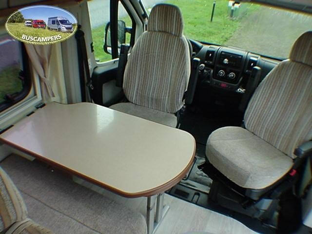 VERKOCHT 2012 Karmann Davis 5.99 buscamper (6 m.) met Fiat 130 pk MultiJet Euro 5